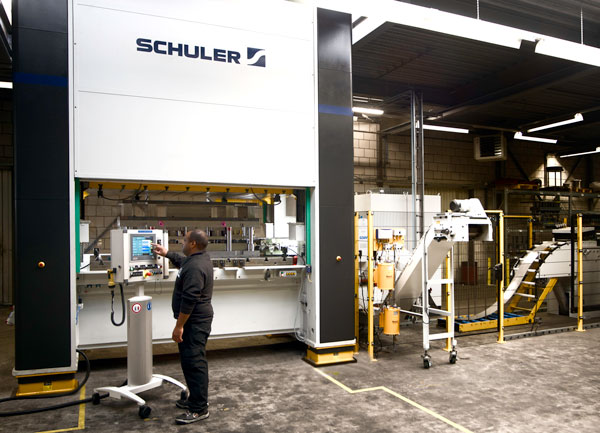 GEERTS SCHULER 300T EXCENTER PERS